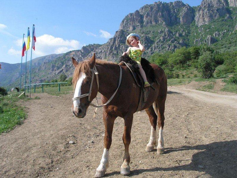 Долина привидений, прогулки на лошадях, цены Алушта