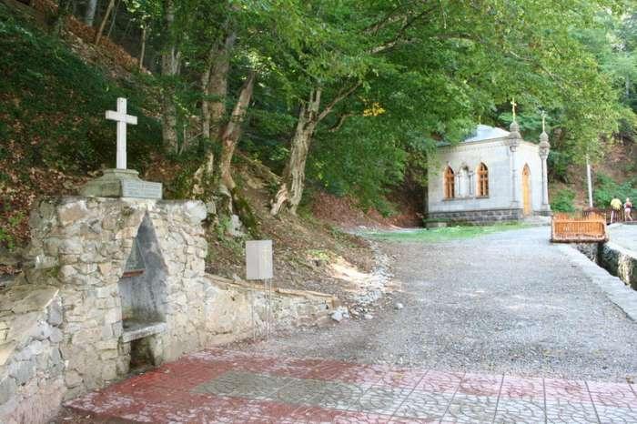 Крымский природный заповедник, православный монастырь