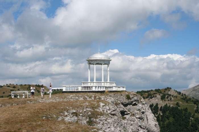 Крымский природный заповедник, Беседка ветров