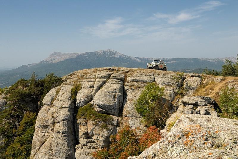 экскурсии на внедорожниках в горы, Крым, Алушта, цены