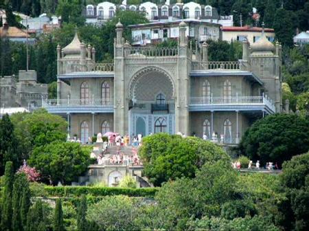 Алупка Воронцовский дворец цены