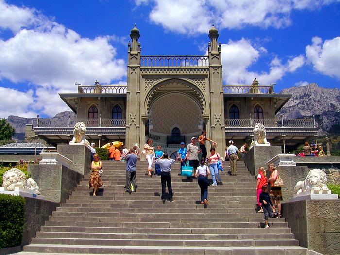 Воронцовский дворец в Алупке цены