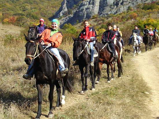 Долина привидений, конные прогулки, цены Алушта